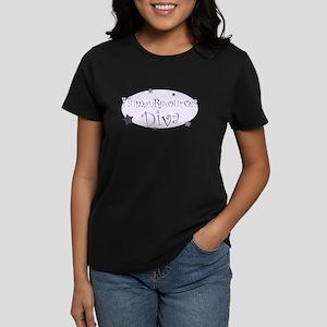 """Human Resources Diva"" [purpl Women's Dark T-Shirt"